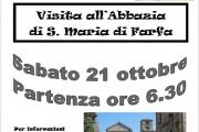 Visita all'Abbazia di S. Maria di Farfa