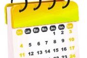 Calendario della Comunità